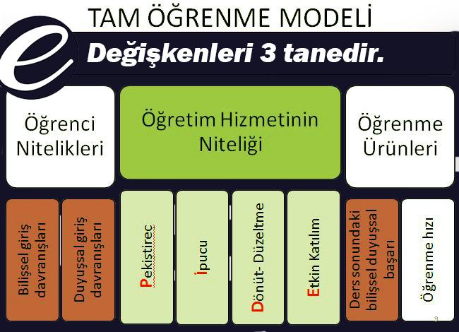 Bloom'un Tam Öğrenme Modeli
