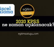 KPSS 2020 Sınav sonuçları ne zaman açıklanacak?